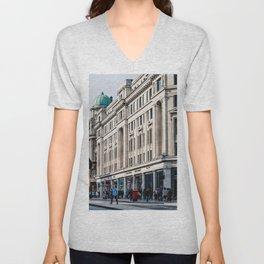 Regent street in London Unisex V-Neck