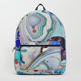 Amethyst in Mikro-Agate Backpack
