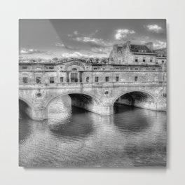 Pulteney Bridge Bath Metal Print