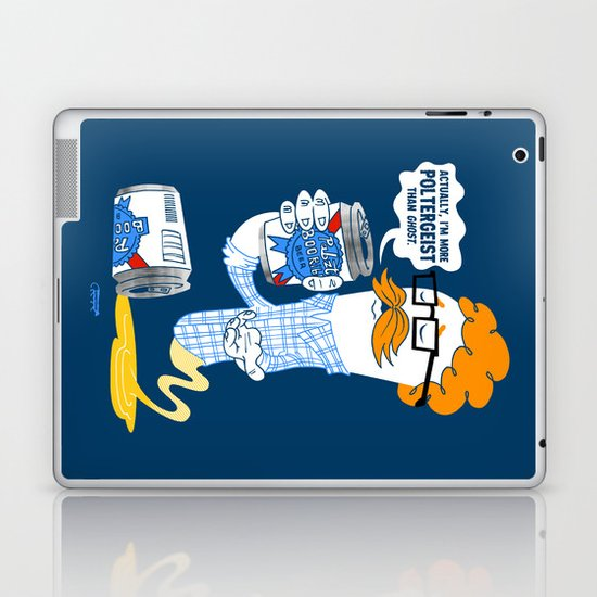 Hipster Ghost Laptop & iPad Skin