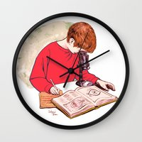 science Wall Clocks featuring Science! by Salgood Sam