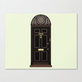 Doors, 221B Canvas Print