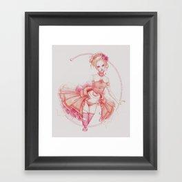 Rococo Ballerina Framed Art Print