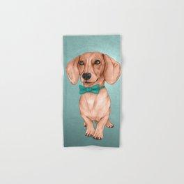 Dachshund, The Wiener Dog Hand & Bath Towel