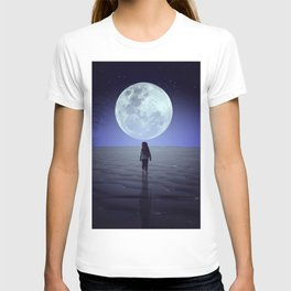 Moon alk T-shirt