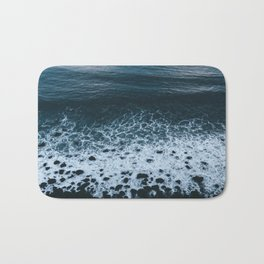 Iceland waves and shapes - Landscape Photography Bath Mat