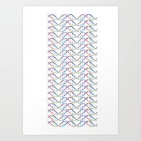 dna Art Prints featuring DNA by FACTORIE