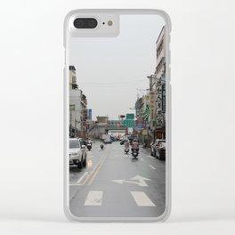 Taipei, Taiwan Clear iPhone Case