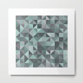 #105 Diamond dust – Geometry Daily Metal Print