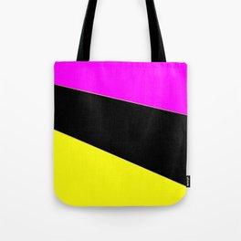 Angelica . Lemon , raspberry , black Tote Bag