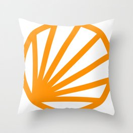 Circle dissected Throw Pillow