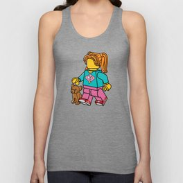 Puppy Love Unisex Tank Top