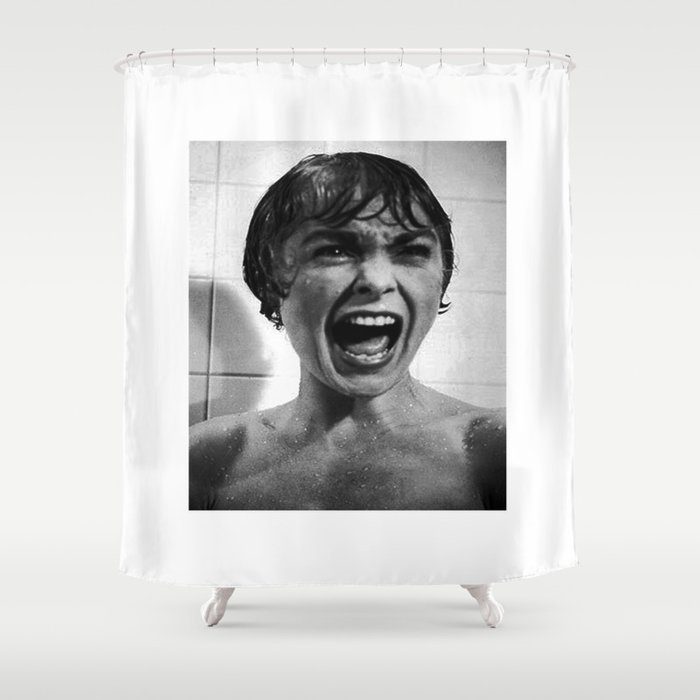 PSYCHO SHOWER SCENE Shower Curtain