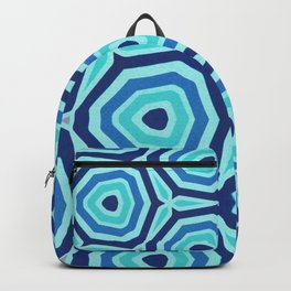 Bet on Blue - Abstract Circles Backpack