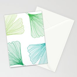 Ginkgo Leaves_color Stationery Cards