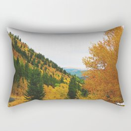 Firey Fall Rectangular Pillow
