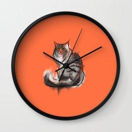 Norwegian Forest Cat Wall Clock