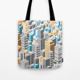 Isometric city Tote Bag