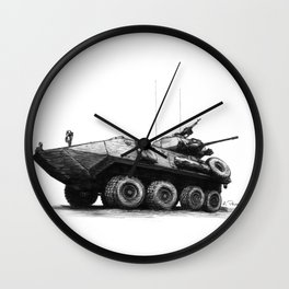 LAV-25 Wall Clock