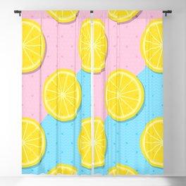 Lemon slices pattern Blackout Curtain