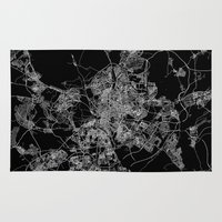 madrid Area & Throw Rugs featuring Madrid by Line Line Lines