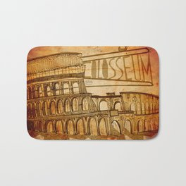 Colosseum  Bath Mat