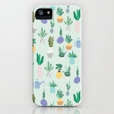 Plant pot Pattern iPhone (5, 5s) Slim Case