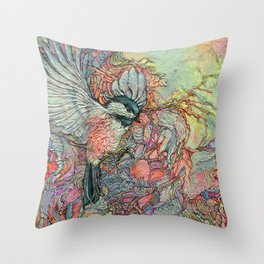 Remembering Delight Throw Pillow