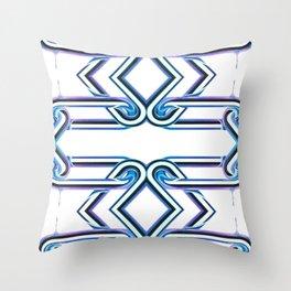 80's Drip Throw Pillow
