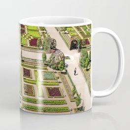 The Gardens at Chateau Villandry in France Coffee Mug