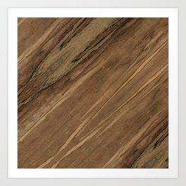 Etimoe Crema Wood Art Print