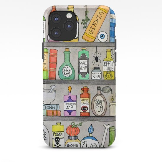 Spooky Halloween Apothecary Iphone Case By Pizzazzdesign Society6