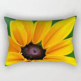 Yellow Daisy Flower Rectangular Pillow