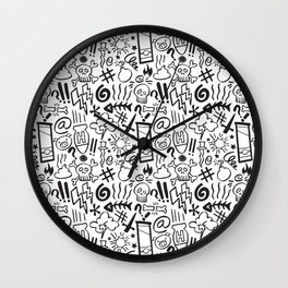 Swearing all day! Wall Clock