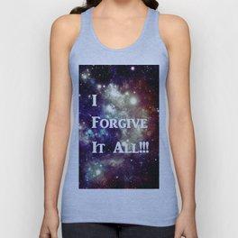 Blue Brown Galaxy : I Forgive It All! Unisex Tank Top
