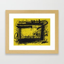 Urban Signature Framed Art Print