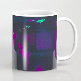 Vaporwave Neon Garage Coffee Mug