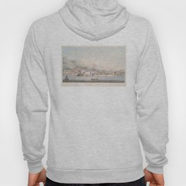 Vintage Pictorial View of Christiansted St Croix (1839) Hoody