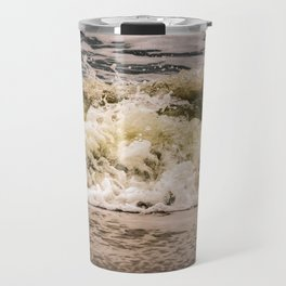 Crashing Ashore Coastal / Seascape / Nature Photograph Travel Mug
