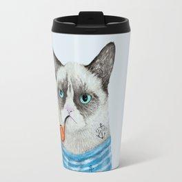 Sailor Cat I Travel Mug