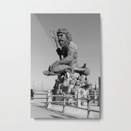 Triton  Metal Print