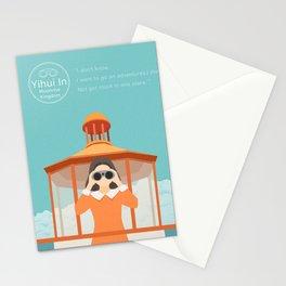 Yihui in moonrise kingdom Stationery Cards