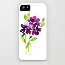 Violet Femmes iPhone Case