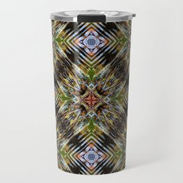 Geometric Frozen Roots Travel Mug