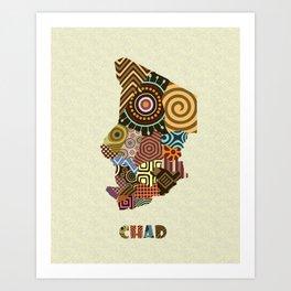 Chad Art Print