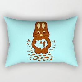 Chocolate Hunting Rectangular Pillow