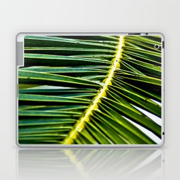 Magic Green Palm Leaves Laptop & iPad Skin