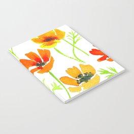 California poppies Notebook