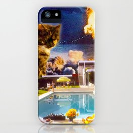 Midcentury Radioactive Cuddle Unit 5 iPhone Case