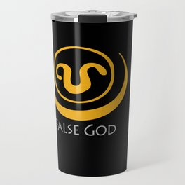 False God. Inspired by Stargate SG1 - The symbol of Apophis as worn by Teal'c Travel Mug